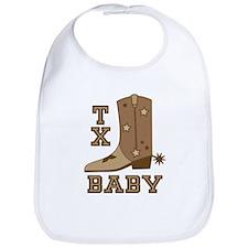 Cute Baby cowboy Bib