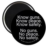 Know Guns Magnet