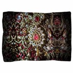 Indian Diamond and Ruby Necklace Pillow Sham