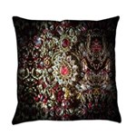 Indian Diamond and Ruby Necklace Master Pillow