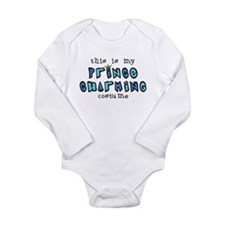 Funny Prince Long Sleeve Infant Bodysuit