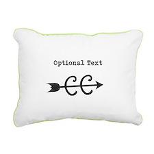 Custom Cross Country Rectangular Canvas Pillow