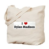 I Love Dylan Madison Tote Bag