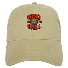 King of the Grill<br> Baseball Cap