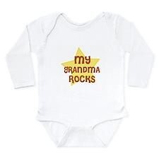 Unique Rock kid Long Sleeve Infant Bodysuit