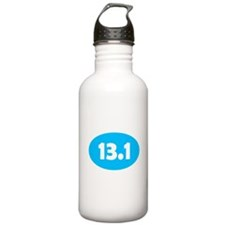 Sky Blue 13.1 Oval Water Bottle