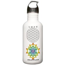Love, Gratitude, Stainless Water Bottle 1.0l