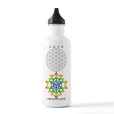 Love, Gratitude, Stainless Water Bottle 1.0l