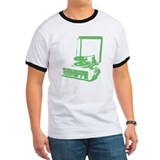 Retro Record Player  T - green