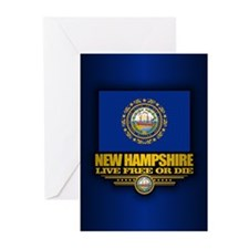 New Hampshire (v15) Greeting Cards