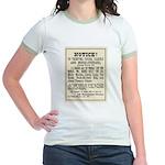 Las Vegas Vigilantes Jr. Ringer T-Shirt