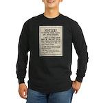Las Vegas Vigilantes Long Sleeve Dark T-Shirt