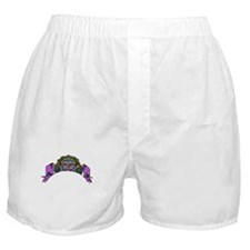 Purple Demon Boxer Shorts