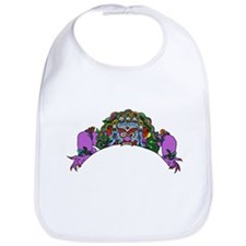 Purple Demon Bib