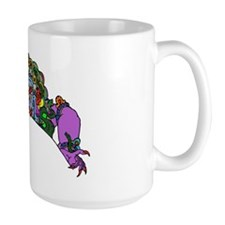 Purple Demon Coffee Mug