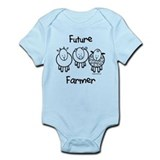 Funny Baby sheeps Infant Bodysuit