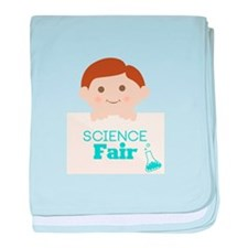 Science Fair baby blanket