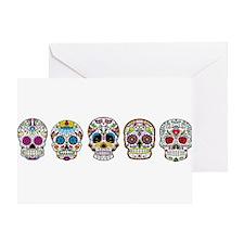 Skulls By Design Greeting Card
