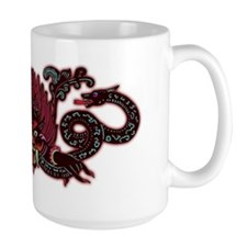 Demon with 2 Snakes Mug