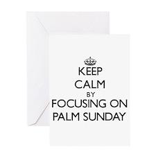Keep Calm by focusing on Palm Sunda Greeting Cards