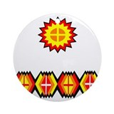 MUSCOGEE CREEK Ornament (Round)