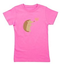 Hedgehog Valentine Girl's Tee