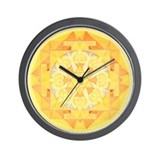 Jupiter Yantra Wall Clock