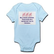 GOOD LISTENER Infant Bodysuit