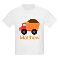 Dump Truck Construction personalized T-Shirt