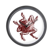 5 Legged Devil Wall Clock