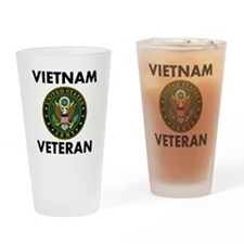 Vietnam Veteran Drinking Glass