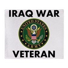 Iraq War Veteran Throw Blanket