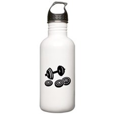 Barbell Dumbbell Water Bottle