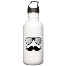 Maternity Mustache Water Bottle