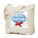 Big Brother to be -Airplane Tote Bag