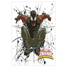 Spider-Man Noir Web Wall Art