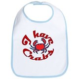 I Have Crabs MD Bib