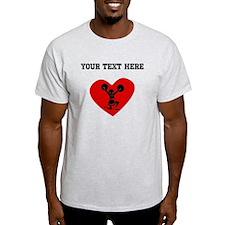 Cheerleader Heart (Custom) T-Shirt