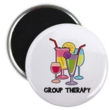 "Drinks Group Therapy 2.25"" Magnet (10 pack)"