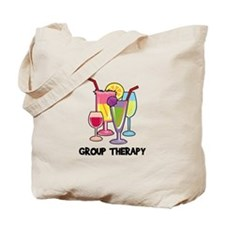 Drinks Group Therapy Tote Bag