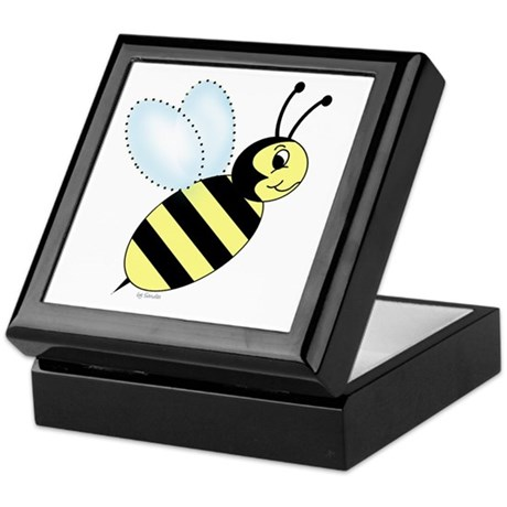 Bumblebee Keepsake Box