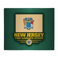 New Jersey (v15) Throw Blanket