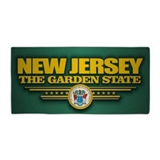 New Jersey (v15) Beach Towel