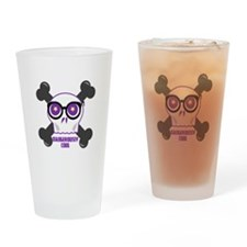 Dangerously Cool Drinking Glass