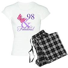 Fabulous 98th Birthday pajamas