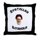 Homer's Ayatollah Assahola Throw Pillow