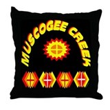 MUSCOGEE CREEK Throw Pillow