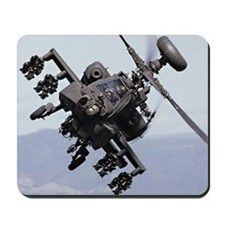 Apache Attack Helicopter Mousepad US Army Gift