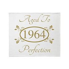 1964 Birth Year (Elegant) Throw Blanket