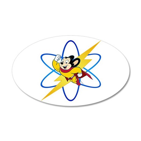 Mighty Mouse Lighting Atom Wall Decal